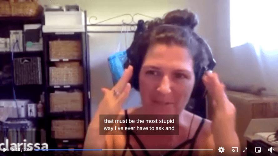 Let's hear from Clarissa