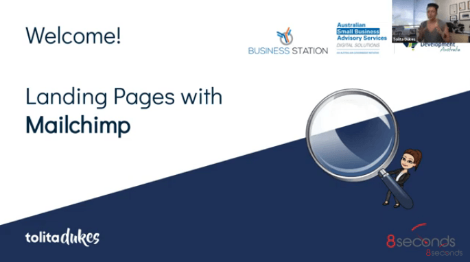 Landing Pages with Mailchimp